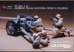 German PAK40 Eastern Front-3 Figures