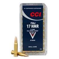 .17 HMR FMJ CCI (50)