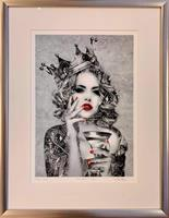 Liz Ravn - The Queen (silver) m/ramme