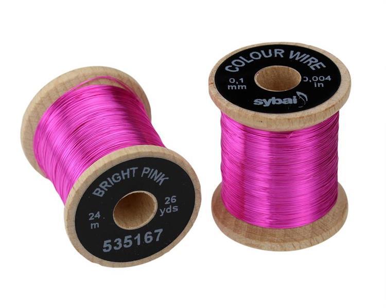 wire 0,1mm - Bright Violet