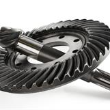 Crown gear and pinion