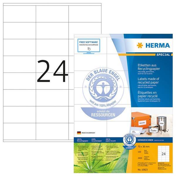 ETIKETT, HERMA 70,0x36,0