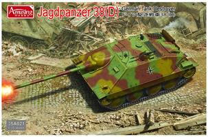 Jagdpanzer 38(D) German Tank Destroyer