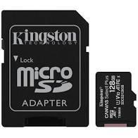 SD-MINNE SDXC, 128GB, USH-I U3, KINGSTON