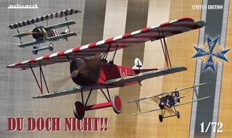 Du doch nicht!! Albatros D.V, Fokker Dr. I and Fok