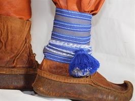 Monterte Herrebånd - Blå