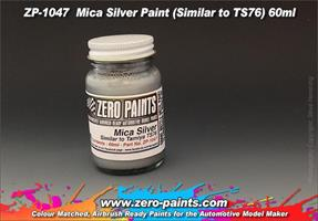 Mica Silver Paint  60ml