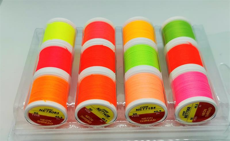 Neon Tread 12 st färger