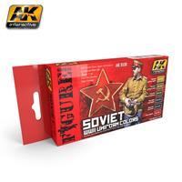 SOVIET WWII UNIFORM COLORS