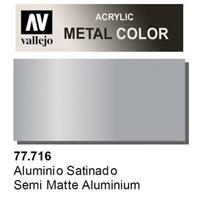 METAL COLOR 77.716 : Semi matte Aluminium