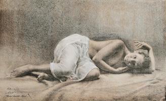 Yvonne J Karlsen-Nude II