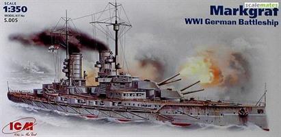 Markgraf WWI German Battleship