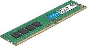 MINNE, 8 GB, DDR4 DIMM 2666MHZ, CRUCIAL