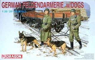 German Feldgendarmerie w/Dogs