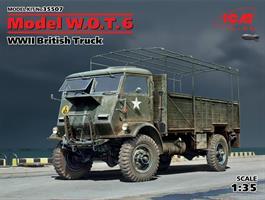 WWII British Truck Model W.O.T. 6