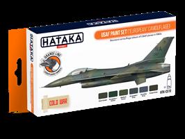 USAF Paint Set (European Camouflage)