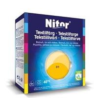 Nitor Tekstilfarge, Solsikke 01