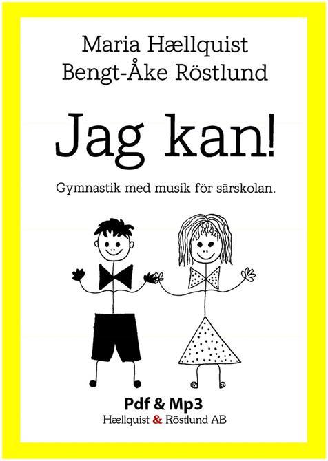 Jag kan! Gymnastik med musik för särskolan. Enkelt att använda, hela programmet är inspelat med instruktioner och sångtexterna beskriver rörelserna.