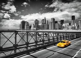 Fototapet Taxi to Brooklyn