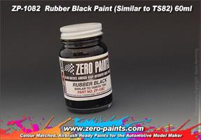 Rubber Black Paint (Similar to TS82) 60ml