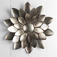Blomdekoration ,vägg