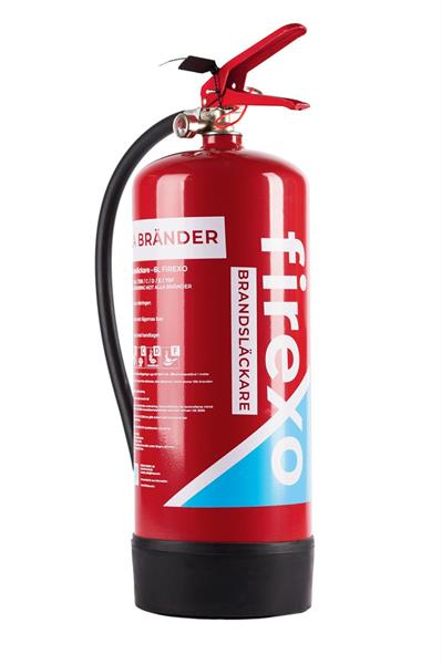 Firexo 6 liter brandsläckare
