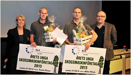 Årets unga skogsmaskinföretagare 2013