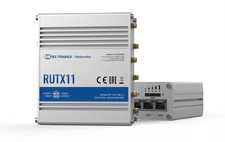 RUTx11 router with Dual-SIM with auto Failover, Backup WAN, and other SW features