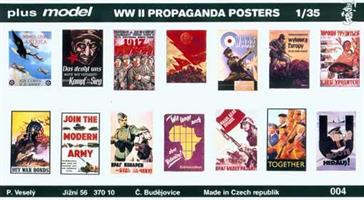 WW II. Propaganda Posters