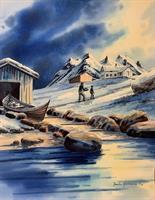 Jarle Hammer-Hjem fra fiske