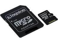 SD-MINNE HCM, 128GB, CL10, KINGSTON