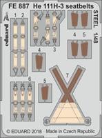He 111H-3 seatbelts STEEL ICM