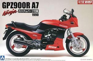 Kawasaki GPZ900R Ninja Type A7 1990 w/Custom Parts