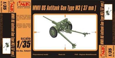 M3 US 37mm Anti-tank gun WW.II
