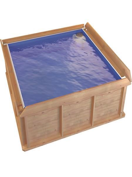 Trä Pool 2x2 m
