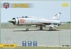 Ye-152A Soviet twin-engined interceptor prototype