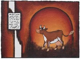 Åse Juul - Happy cow I