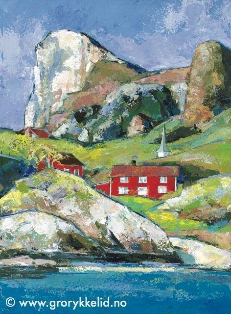 Rødøy, orginalmaleri