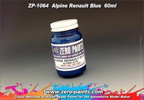 Alpine Renault Blue Paint A110 60ml