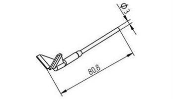 Tip Ersadur 22,5x16,5mm QFP100