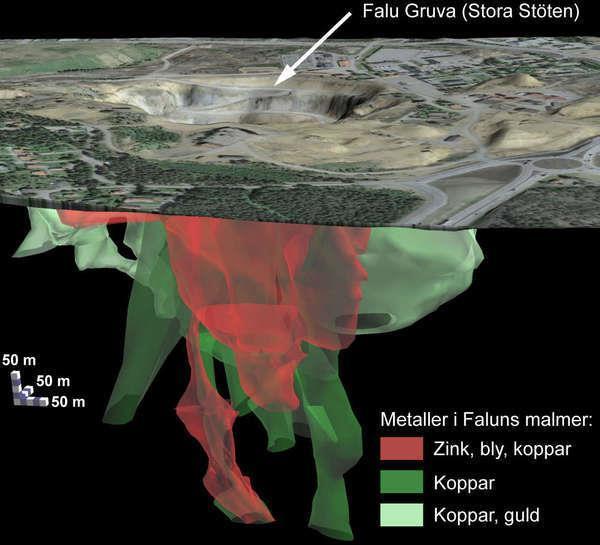Debatt: Falu gruvas 1,9 miljarder år gamla geologiska processer kan säkra samhällets framtida behov