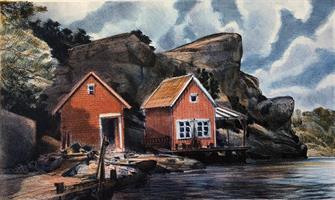 Kjell Thorjussen-To røde buer