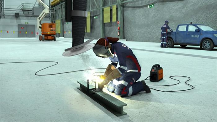 Först i världen med interaktiv arbetsmiljö- och säkerhetsutbildning