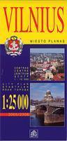 Vilnius city plan
