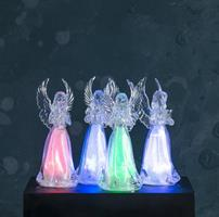 LED ängel som skiftar färg