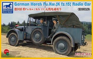 German Horch Fu.Kw. (Kfz. 15) Radio Car