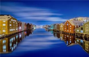 Aziz Nasuti-Trondheim winter night