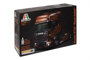 Scania R Black Amber. Inkl. Amber paint