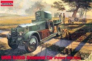 WWII British Armoured Car (Pattern 1920)