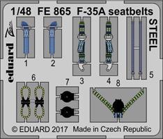 F-35A seatbelts STEEL